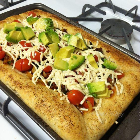 Vegan pizza recipe, california style