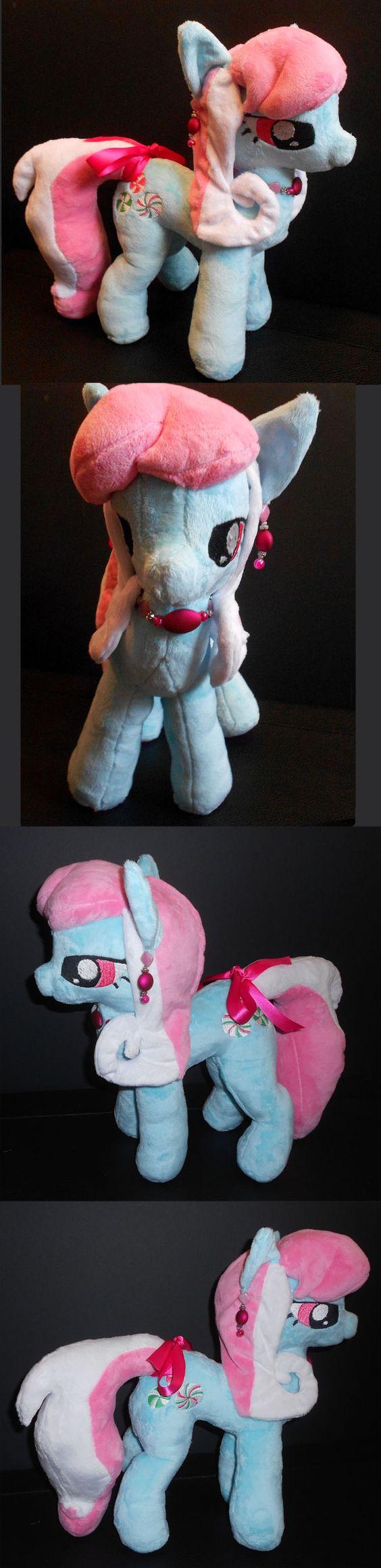 My Little Pony Minty Custom Plush by Sophillia.deviantart.com on @DeviantArt