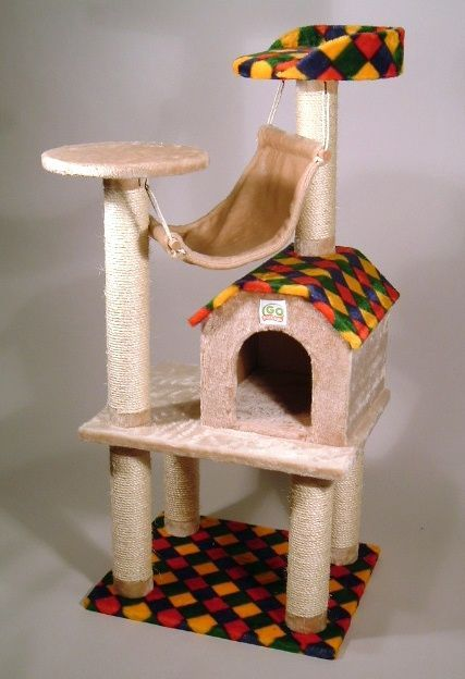 Unique Cat Trees And Kitty On Pinterest