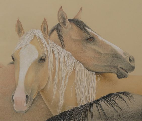 The 3 Muses, colored pencil, giclee prints available on Etsy https://www.etsy.com/shop/PetsArtist?section_id=18716953&ref=shopsection_leftnav_5