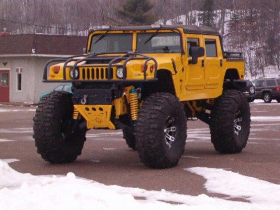 One of very few hummers you will see on my board. Cause its a REAL humvee