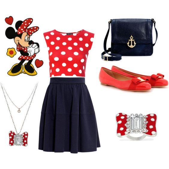 Minnie mouse casero disfraces de ltimo momento en - Disfraces sencillos de hacer ...