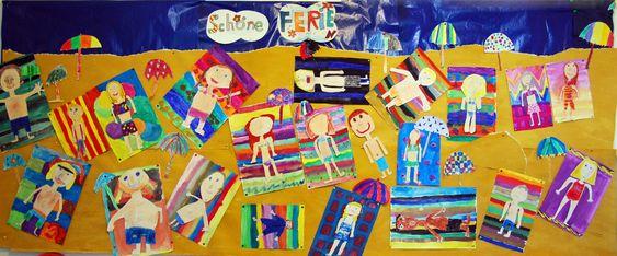 Kunstunterricht in der Grundschule, Kunstbeispiele für die Klassen 1-3, - 136s Webseite!