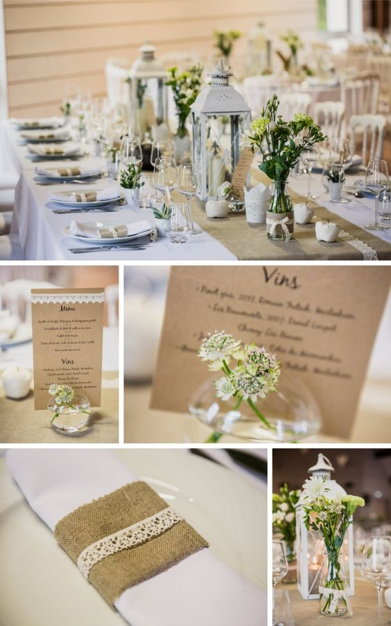 Pinterest the world s catalog of ideas - Decoration de table mariage ...
