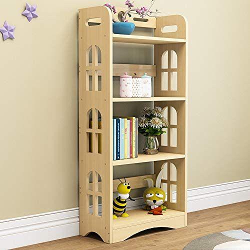 Shelf Simple Bookshelf Solid Wood Landing Child Multi Layer Small