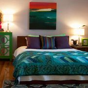 Teal Bedroom Design Ideas, Pictures, Remodel and Decor