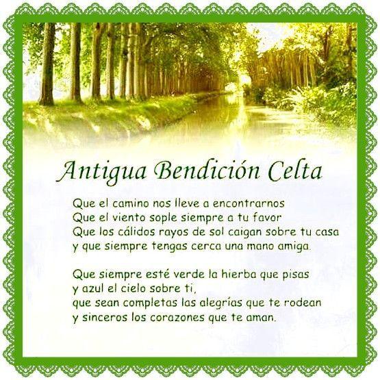 Resultado De Imagen De Antigua Oracion Celta Bendicion