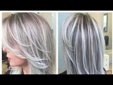 اعملي لنفسك ليماش بلاتين في البيت ولا أسهل وفري نقودك بيتي التركي الجزائري Youtube Gray Hair Highlights Short Hair Highlights Hair Beauty