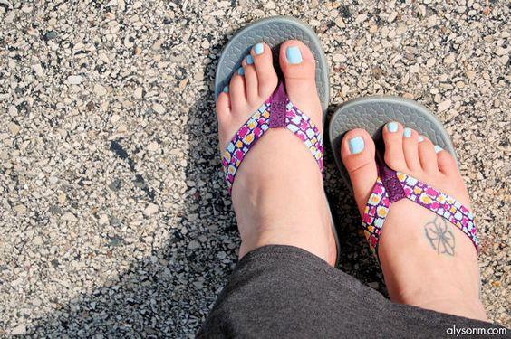 Cute & comfy, Chacos Reversiflip. Sandals, flip flops.