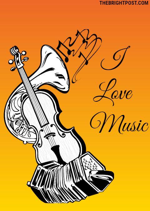 I Love Music Picture Status Music Status Music Pictures