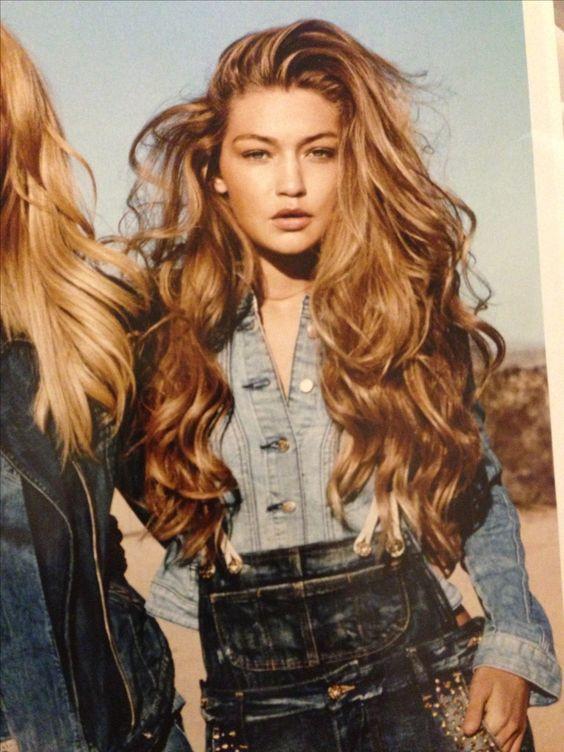 Gigi Hadid is all the mermaid hair goals
