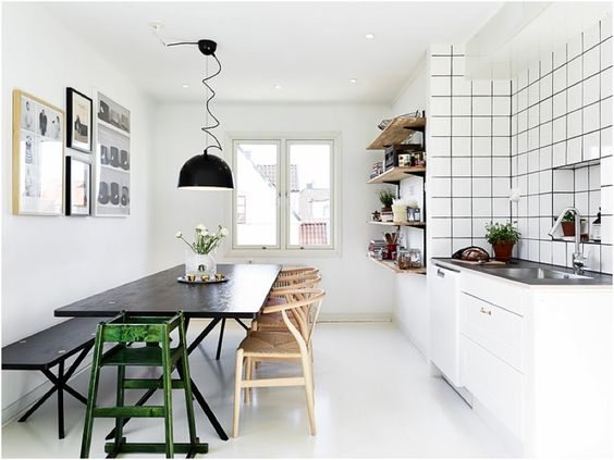 Bænk #spiseplads #spisebord #indretning #inspiration ...