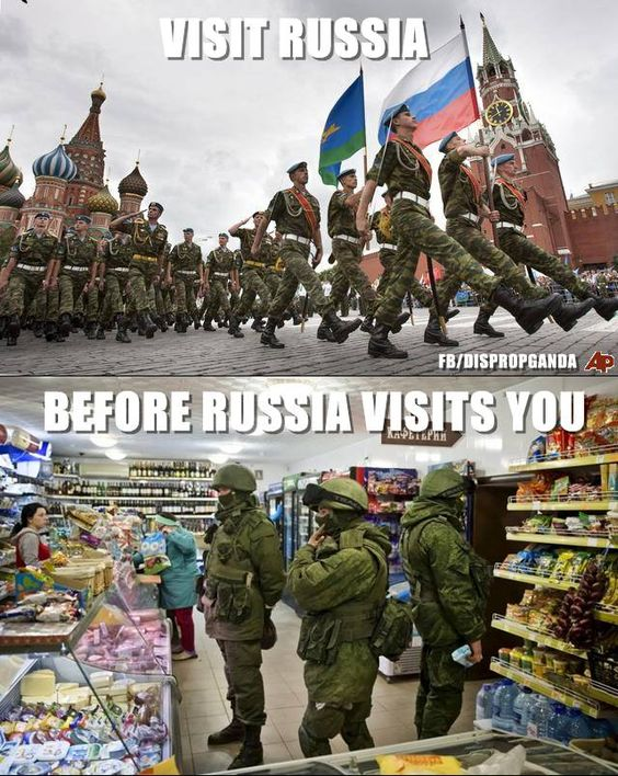 I Want Russia To Visit Me