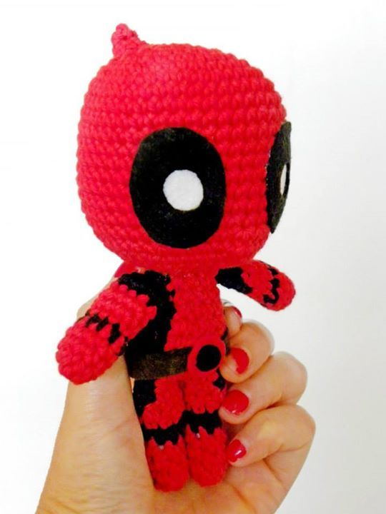Amigurumi Chibi Doll Pattern Free : Deadpool amigurumi and inspiration on pinterest