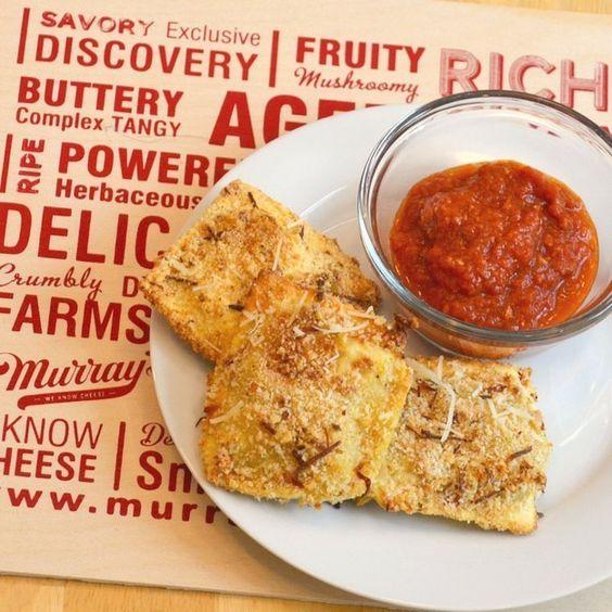 Ravioli torrado | 31 versões assadas e bem mais saudáveis de comidas fritas