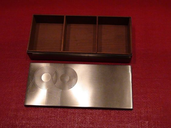 Chase Brass and Copper Connoisseur Cigarette Box | eBay