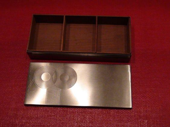 Chase Brass and Copper Connoisseur Cigarette Box   eBay