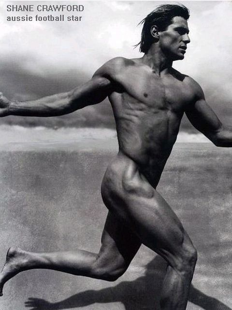 Shane Crawford, Australian athlete by Born2HandJive on Flickr. pinned by A.S.