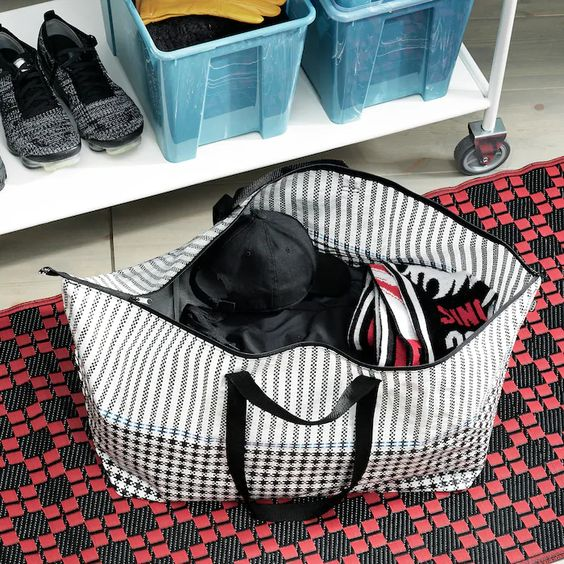 Sammankoppla Shopping Bag Large Ikea Carrier Bag Ikea Bags