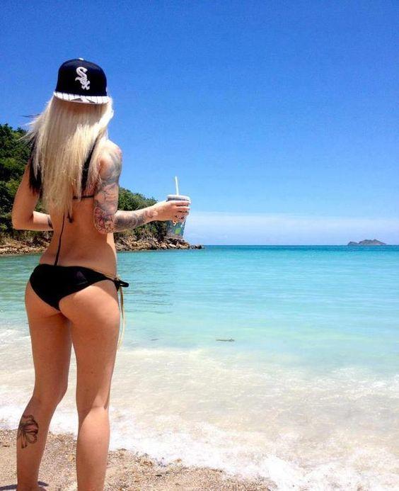 Beach + Tattoo + Swag
