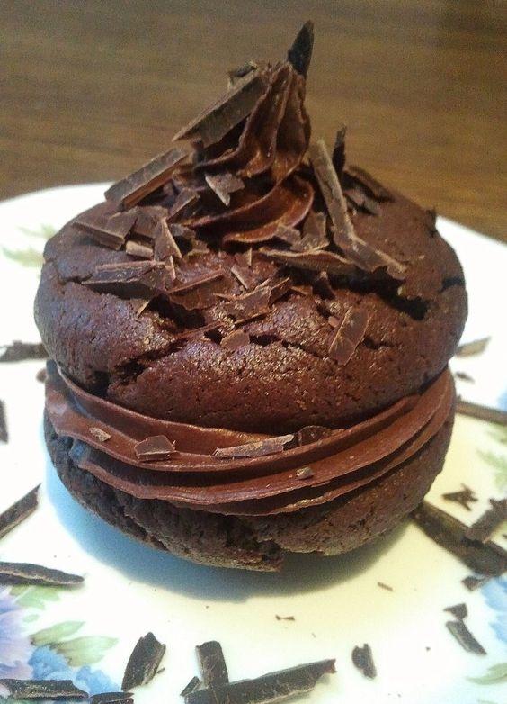 Chocolate Mud Whoppie Pie