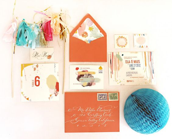 invitation suite styling