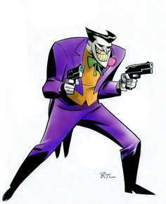 Bruce timm, Mad love and Jokers on Pinterest