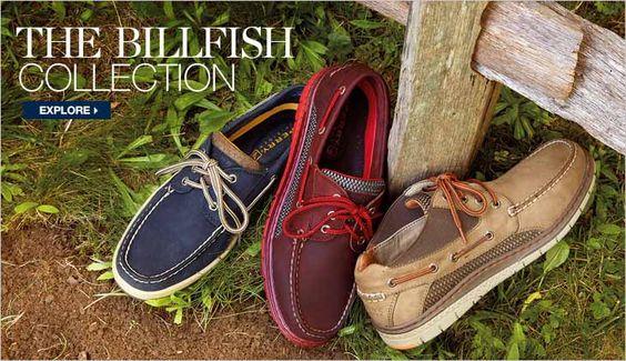 Explore Sperry Top-Sider's Men's Billfish Collection.