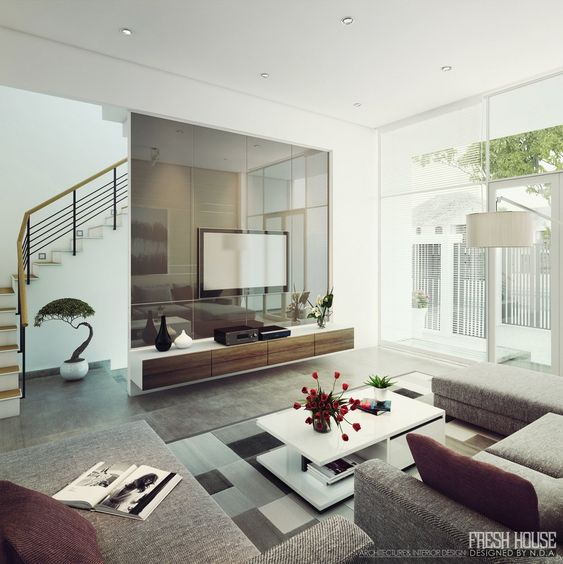 Modern And Contemporary Living Room Designwhite Table With Extraordinary Modern And Contemporary Living Room Designs Inspiration