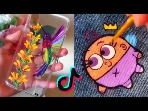 People Painting Things On Tiktok For 7 Minutes Straight Part 47 Tik Tok Art Compilation Youtube Painting People Painting Art