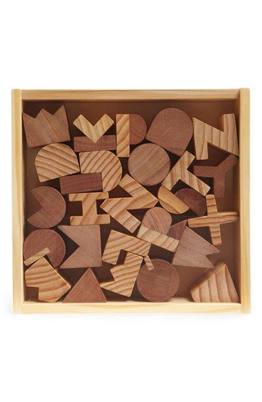 Areaware Wooden Alphabet Blocks available at #Nordstrom