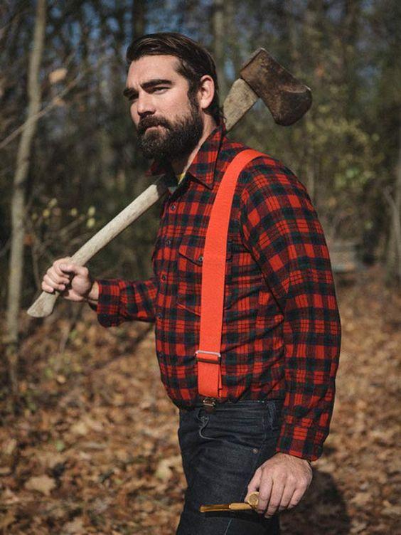 "A nova tendência masculina é ser ""Lumbersexual"""