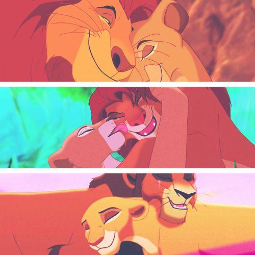 Mufasa and Sarabi, Simba and Nala, Kovu and Kiara. Lion ...