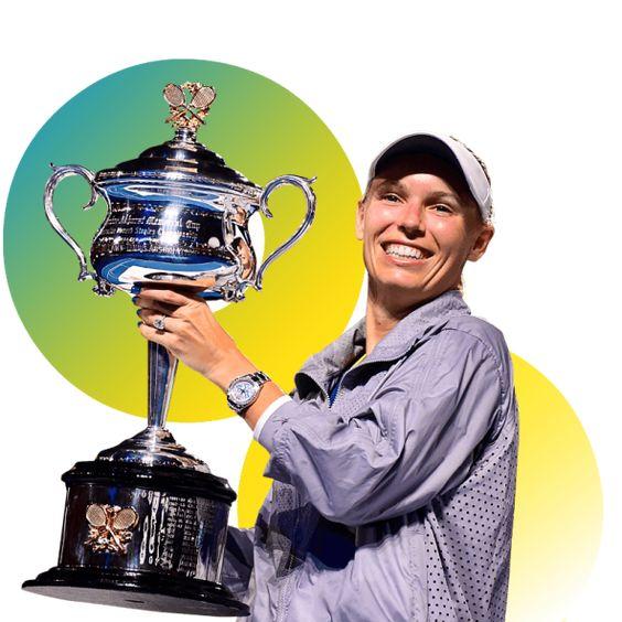 Campeona O. Australia 2018. Caroline Wozniacki