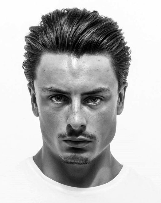Medium Length Mens Slicked Back Hair Ideas Slick Back Haircut Slicked Back Hair Cool Hairstyles For Men