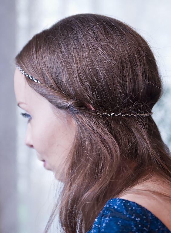 coiffure headband edmée bijoux coiffure rétro maquillage coiffure ...