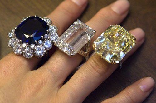 New Worlds Biggest Diamond Ring Most Expensive Engagement Rings In