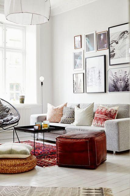Living Space via Inger Johanna seen on Simply Grove I Interier I Notranja oprema I Dnevna soba I LIVING: