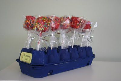 if you are making cake pops, here is how to package them