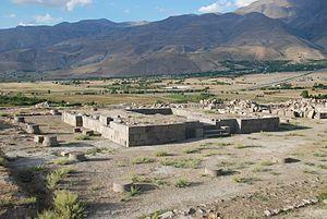 Erzincan Altıntepe'deki Urartu kalıntıları