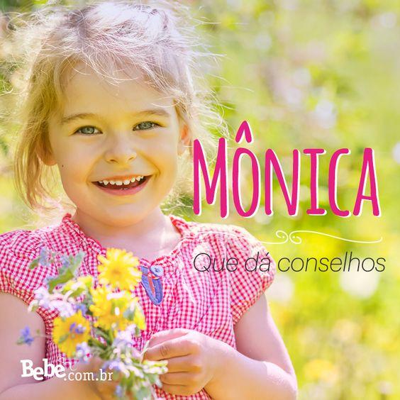 Quem aí também tem uma #Mônica em casa ou na barriga? No nosso site, você confere mais curiosidades e a numerologia de Mônica (e de muitos outros nomes lindos!) #NomesSignificados