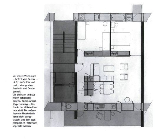 The radical building typology of Domus Demain by Yves Lion and - küchen smidt köln