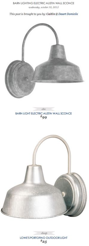 Lowes Electric Wall Sconces : Copy cat chic, Wall sconces and Sconces on Pinterest