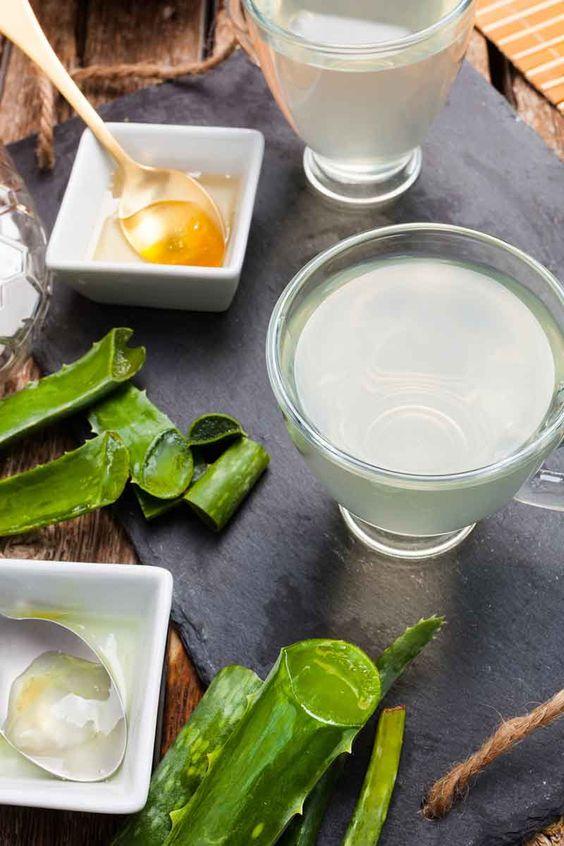 Lemon Aloe Vera Detox Drink