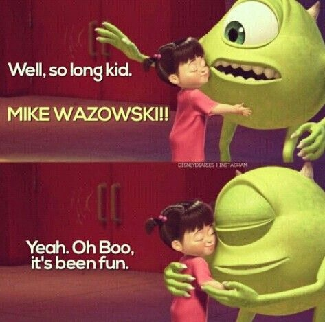Monsters Inc Mike Wazowski Quotes - #traffic-club