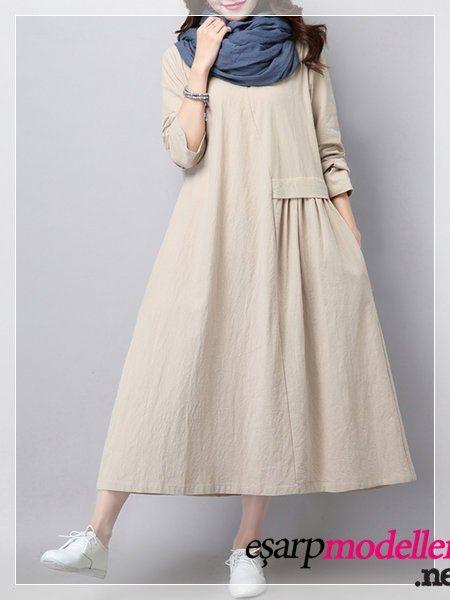 Yeni Sezon Gunluk Elbise Modelleri Elbise Modelleri Elbise Islami Giyim