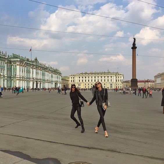 Russian Easter in beautiful St Petersburg✨Thank U @loverepublic_official for having me here @elenaisakova #squareofwinterpalace