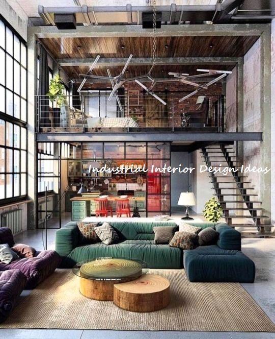 Diy Industrial Design Ideas 1 Loft Apartment Decorating Loft