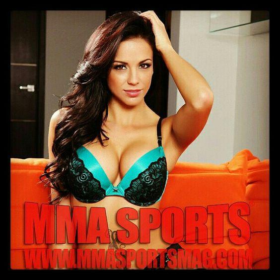 @MMASportsMag #MMAFighters #MMA #model #sports #fights #RingGirl