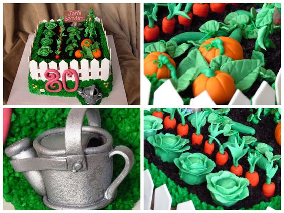 ... green beans birthday cake  Special occasion cakes  Pinterest